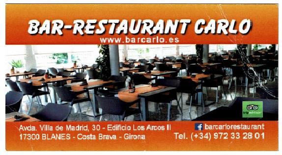 Bar Restaurant Carlo